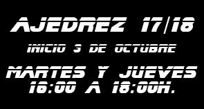 Ajedrez 2017-2018