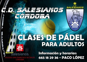Clases padel adultos